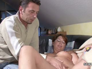 German Step-son Wake up MILF Mom and Fuck Her: Free Porn 9b