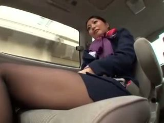 uniform, stewardess, asian