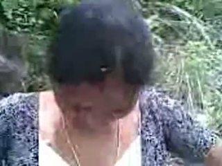 Sexig indisk telugu aunty med henne bf