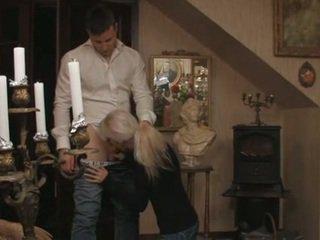 Chutné blondýna švédske násťročné a ju boyfriend
