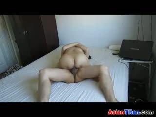 Vietnamees getting geneukt door haar boyfriend