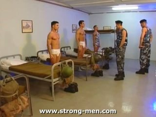 Military Group Hardcore Sex