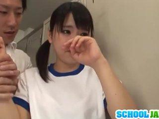 युवा, जापानी, cowgirl