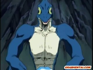 Pangawulan hentai girls groupfucked by bilingüe lizards