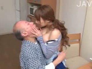 japonijos, big boobs, senas + young