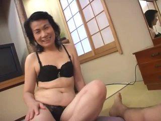 Mature asian whore loves sucking hairy...