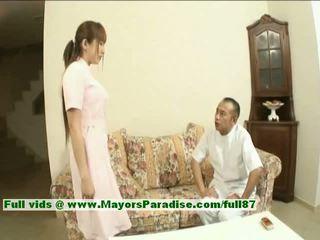 Myuu hasegawa innocent mooi chinees meisje gets teased
