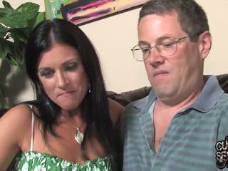 Husband Watches Pair Oustanding Black Zonkers Bump His Wife In This Cuckold Band Penetrate