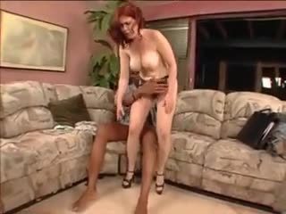 Hairy Mature Interracial With Butt Sex...