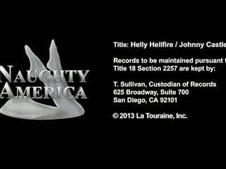 Large Hooter Blonde Pedagogue Helly Hellfire