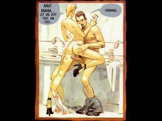 Erótico hardcore sexo desenho