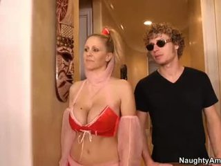 Julia ann is a gyzykly genie who can wish org .
