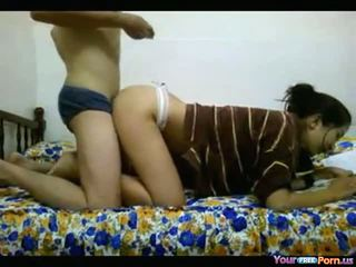 Asian Teen Fucks And Studies At The Same Time Video