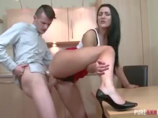Сексуальна thick stepsister