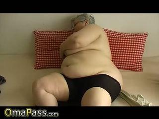 老, 奶奶, 脂肪
