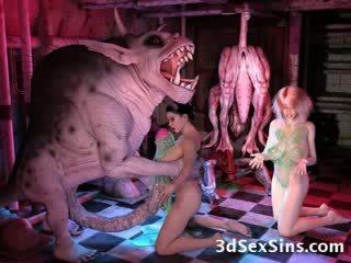 3d tekenfilm hentai tekenfilm bizar tentakel monster fetisj extreem ogre reus tekenfilm strip manga freak elf buitenaards sperma lelijk