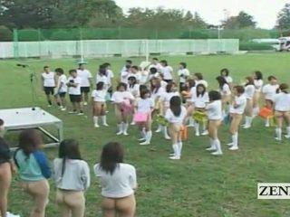 studenten, japansk, gruppsex