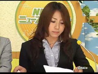 יפני newsreaders ayumu sena ו - fuuka minase squirting l