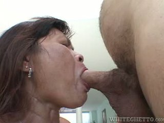 Mature Asian Bitch Manages To Get Her Pussy Pounded Hard