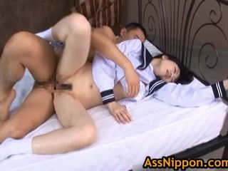 STeamy Real AsIan School Hotty Has An ...