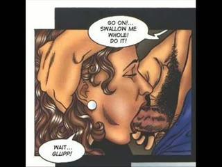 Hardcore sexuálne erotický fetiš comics
