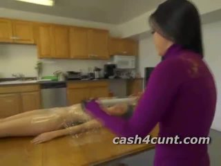 Amateur girls get naked for money and ...