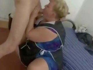 Fat BBW Granny Cleaner Fucked by Fat Cock: Free Porn 11