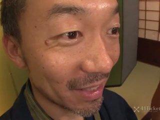 41Ticket - Hiyoko Morinaga's Pussy Juice Puts Out Candle (Uncensored JAV)
