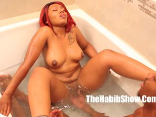 Thickred get Fucked by BBC Stretch Bathroom Lovin: Porn 96