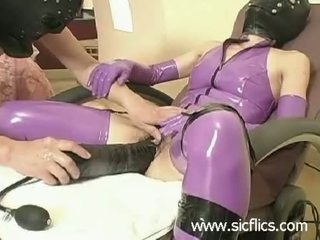 fetish, latex, xxl dildos