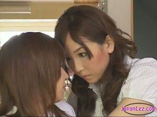 japānas, lesbiete, skolnieces