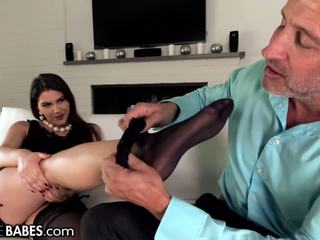 Footsiebabes valentina nappi silit footworship