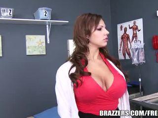 grande, tits, saque