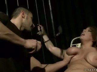 Big Titted Blonde Has Bondaged And Punished