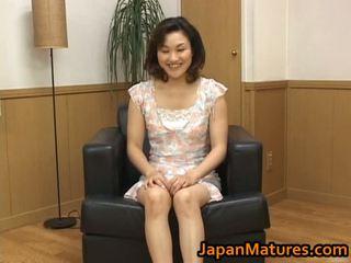 Baszás érett ázsiai nő