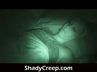 Wake a sleeper up late at night shoving dong in her ýüz