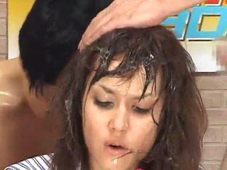 Maria Ozawa bukkake announcer