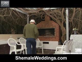 Καυτά τραβεστί weddings σκηνή starring senna, rabeche, alessandra