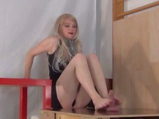 Röv kvävning fotsex, fria blondin porr video- 44