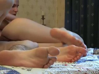 Young Libertines: Teen Alena is anal virgin