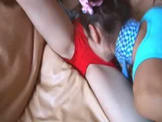 lesbo video-, mooi dijk, lesb seks