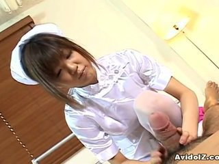 Rika Hayama Is A Awesome Nurse Not Far From Soft Hands