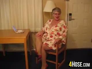 new granny, quality solo porno, nice fat