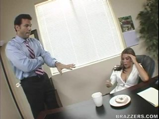 big tits fuck, great office sex fucking, from behind vid