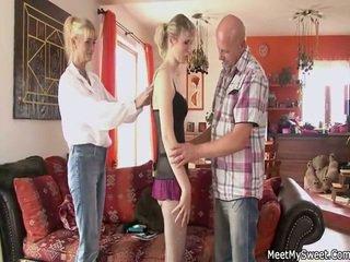 tiener sex porno, nominale groepsseks scène, hd porn
