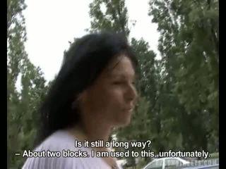 Tjeckiska streets - lenka skogs sugande video-