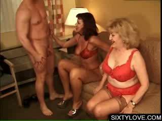 Mature Nymphomaniac Titty rubbing big boner