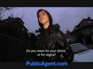 Чешка рудоволоса goes додому з the публічний agent