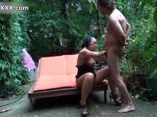 নোংরা বেশ্যা gets তার পাছা banged কঠিন
