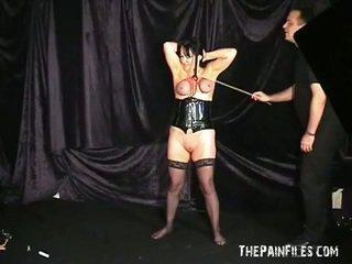 meisjes video-, nieuw marteling, nieuw pijn scène